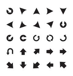 Mini Arrows Icons 6 vector