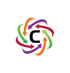 Online marketing business distribution c vector