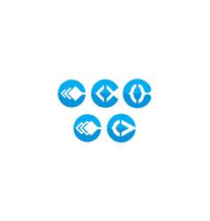 programming logo icon vector image