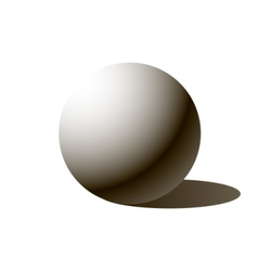 Sphere ball vector