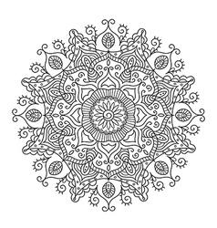 Beautiful Ethnic Mandala vector image