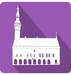 City Hall vector image