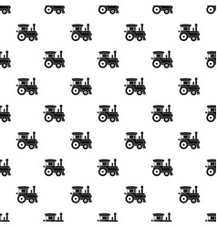 toy train pattern vector image