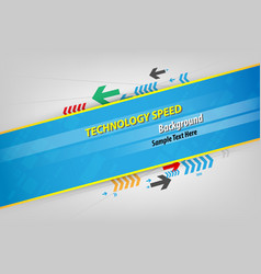 abstract background speed technology for text vector image