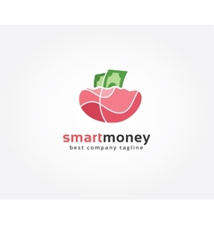 Abstract money logo icon concept Logotype template vector