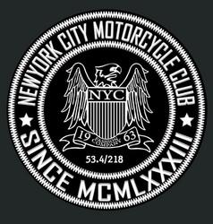 american eagle linework vector image