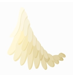 Angel wing icon cartoon style vector image vector image