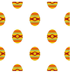 Beautiful easter egg pattern seamless vector