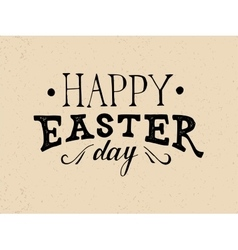 Easter hand drawn lettering vector