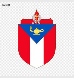 Emblem austin vector