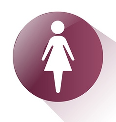 Female sign vector
