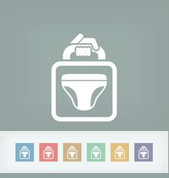 man underwear vector image