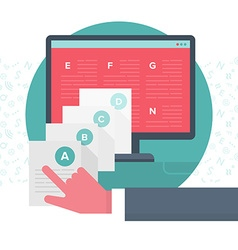Organizing Digital Content vector