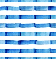 Watercolor pattern with strips vector image