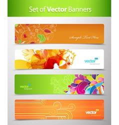 web headers vector image vector image