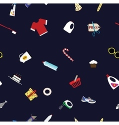 shoping retail concept background vector image vector image