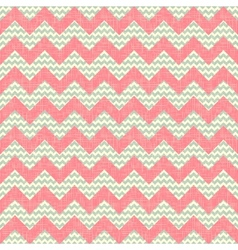 Zigzag pattern seamless chevron background vector image vector image