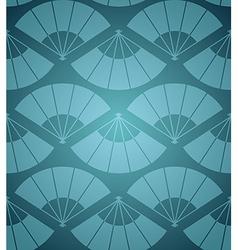 Japan fan seamless pattern vector
