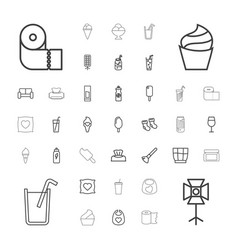 37 soft icons vector