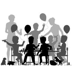 boys party vector image