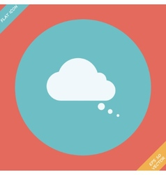 Comic speech bubbles icon - vector image