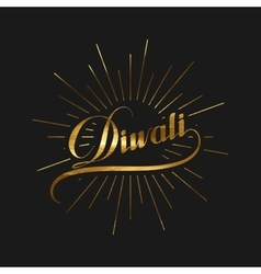 Diwali holiday vector