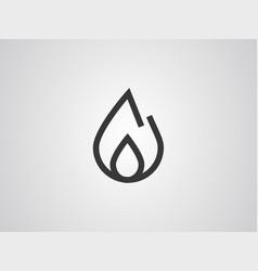 fire icon sign symbol vector image
