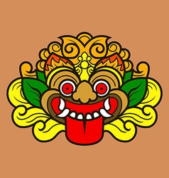 Kalamakara Ornament Color vector
