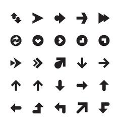 Mini Arrows Icons 7 vector