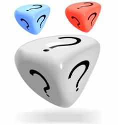 Mystery dice vector