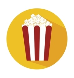 pop corn design vector image