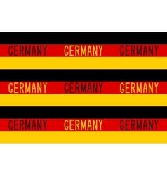 Seamless pattern in german patriotic style vector