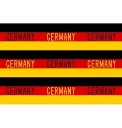 Seamless pattern in german patriotic style vector image