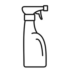 Spray bottle icon outline style vector