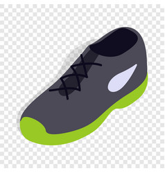 Tennis shoe isometric icon vector
