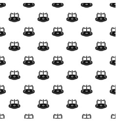 children merry go round pattern vector image vector image