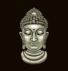 Buddha 2 vector image