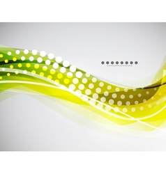 flowing wave vector image