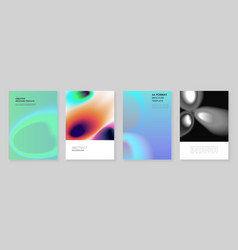 A4 brochure layout covers design templates vector