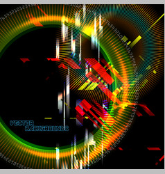 Abstract tech colors motion vector