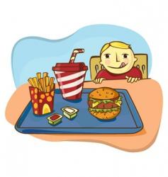 boy cartoon vector image