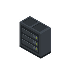 database center technology hardware device vector image