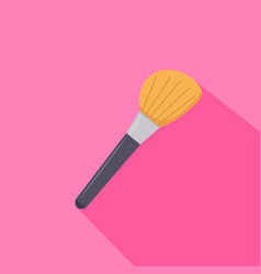 Make up brush from beauty salon vector