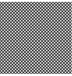Regular grid mesh pattern with shadow seamlessly vector