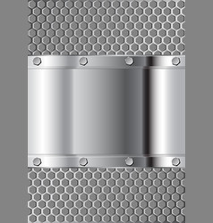 metal vector image