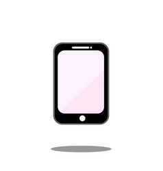 mobile phone icon smartphone display call vector image