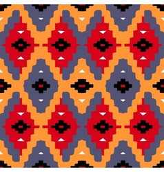 Native american pattern vector image vector image