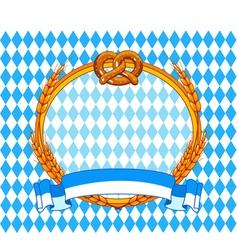 Oktoberfest background vector
