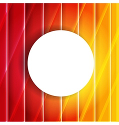 Color Orange And Red Background With Speech Bubble vector image