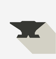 anvil icon vector image